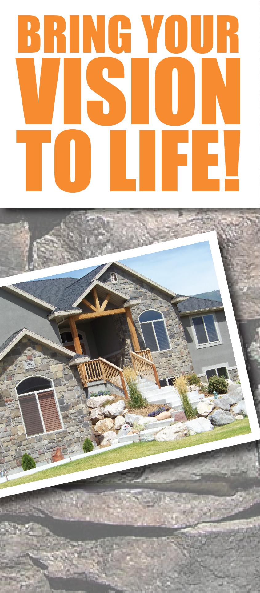 Concrete stone tile grande prairie